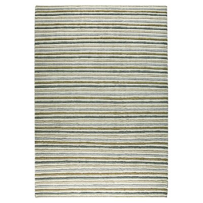 Manchester Hand-Knotted Brown/Gray/Beige Area Rug Rug Size: 83 x 116