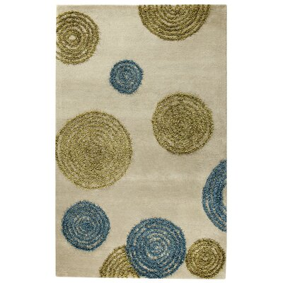 Odyssey Hand-Tufted Gray/Blue/Green Area Rug