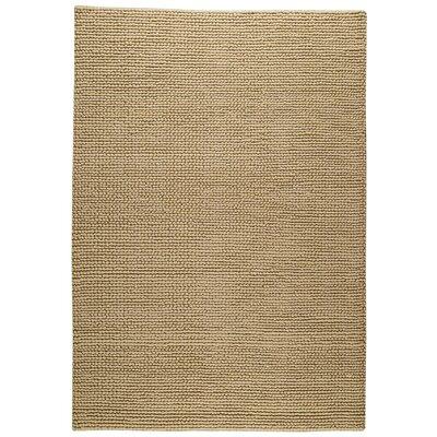 Ladhak Hand-Woven Beige Area Rug Rug Size: 83 x 116