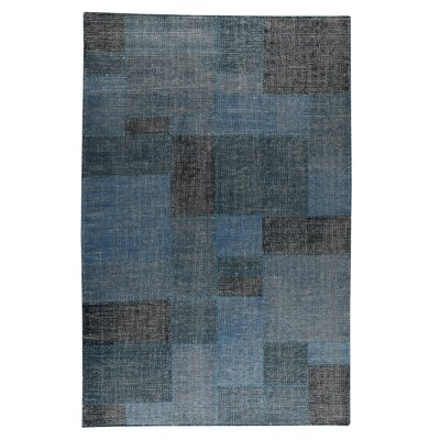 Lina Hand-Woven Turquoise Area Rug
