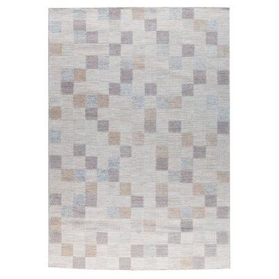 Kista Hand-Woven Natural Area Rug Rug Size: 8 x 10