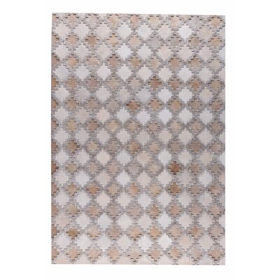 Alcor Hand woven Beige/Camel Area Rug Rug Size: 2' x 3'