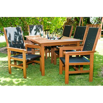 Hipple 7 Piece Dining Set with Coolers
