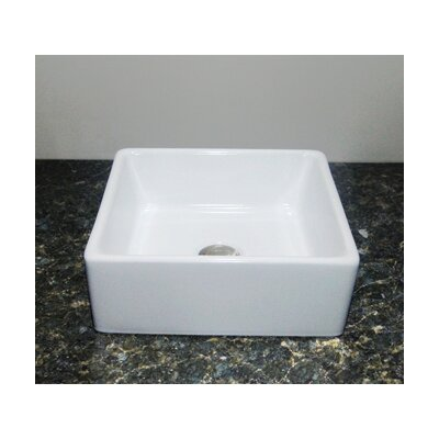 Primo Ceramic Square Vessel Bathroom Sink
