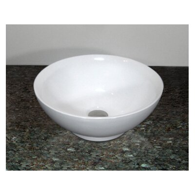 Rome Circular Vessel Bathroom Sink