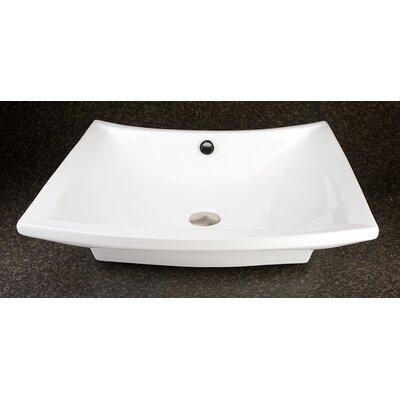 Nautikos Ceramic Specialty Vessel Bathroom Sink