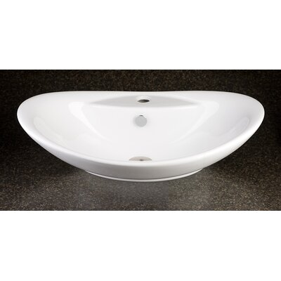 Sophia Ceramic Specialty Vessel Bathroom Sink