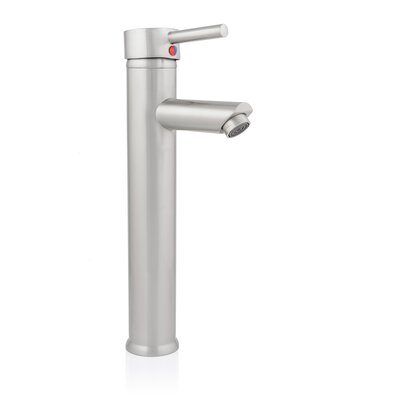 Chartres Single Hole Single Handle Bathroom Faucet Finish: Brushed Nickel