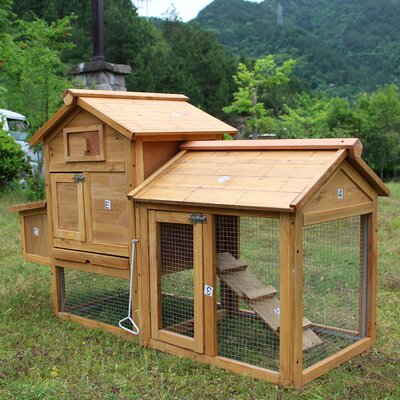 Carina Animal Hutch Cage