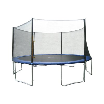 """144"""" Round Trampoline with Safety Enclosure 6180-12FTcom"""