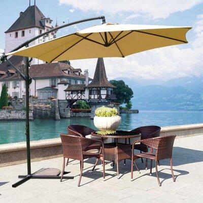 10 MCombo Cantilever Umbrella Color: Beige