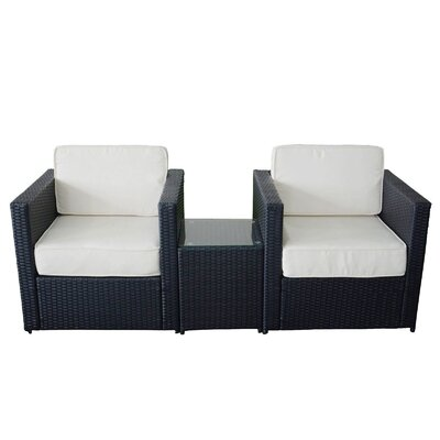 MCombo 3 Piece Deep Seating Group with Cushion
