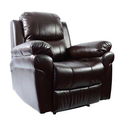 MCombo Vibrating Swivel Reclining Massage Chair with Heated Lounge 6160-7090BR