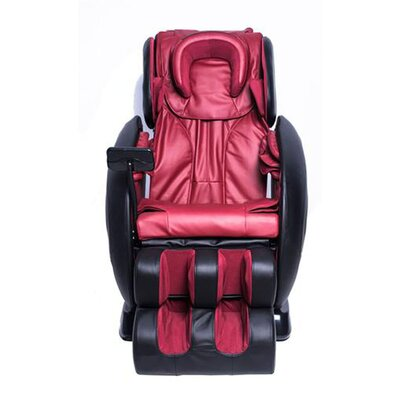 MCombo Leather Electric Zero Gravity Massage Chair Upholstery: Red