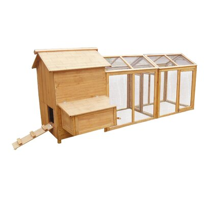 Lovupet Chicken Coop with Backyard Run