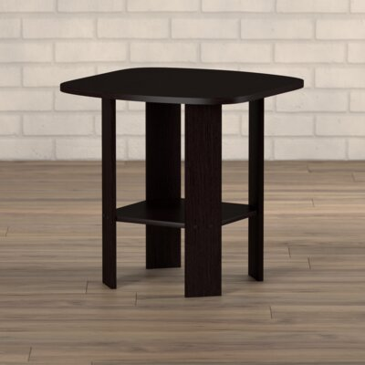 Latasha Simple End Table Color: Espresso