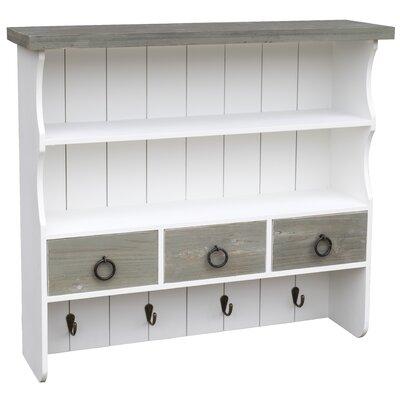 Garderobenhaken Knowles | Flur & Diele > Garderoben > Garderobenhaken | Whitewhite | Holzwerkstoff - Metall | Home Loft Concept