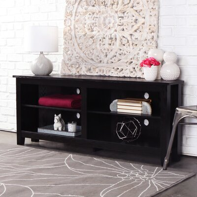 Sunbury 58 TV Stand Color: Black