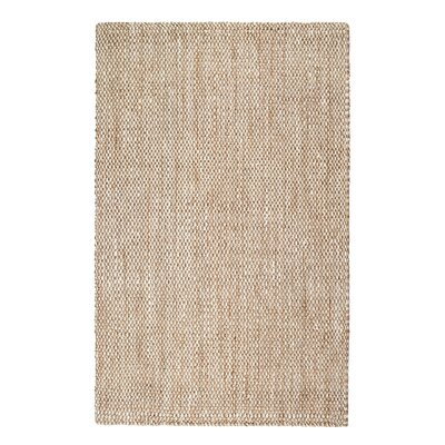 Martindale Hand-Made Cream Area Rug Rug Size: 9 x 12