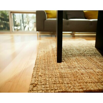 Helvetia Reversible Hand-Woven Brown Indoor/Outdoor Area Rug Rug Size: Rectangle 8 x 10