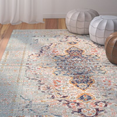 Estrel Area Rug Rug Size: Rectangle 53 x 77