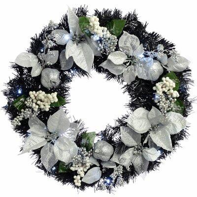 Kranz 60 cm mit Beleuchtung | Dekoration > Dekopflanzen > Kränze | Die Saisontruhe