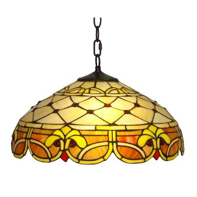 2-Light Bowl Pendant