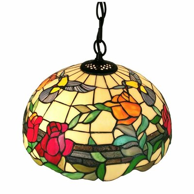 Tiffany 2-Light Bowl Pendant