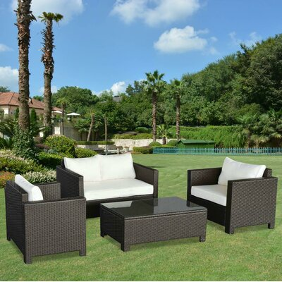 Havana 4 Piece Conversation Set
