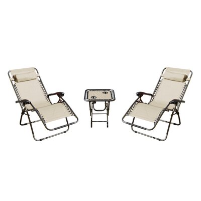 Shumaker 3 Piece Seating Group Fabric: Cream