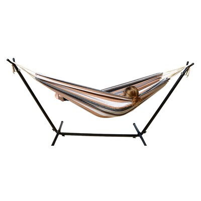 Hammock with Stand Color: Island Stripes
