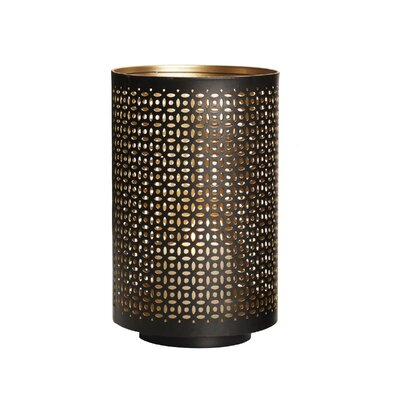 Mesh Luminary Iron Votive Holder