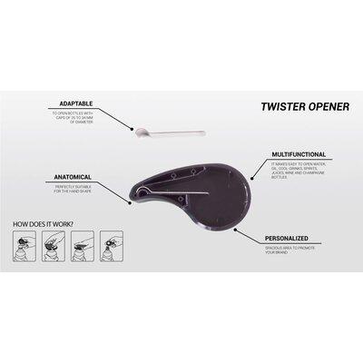 Lady Bug Twister Bottle Opener DW150002-BLK