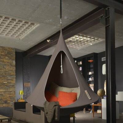 Single Chair Hammock Color: Deep Taupe