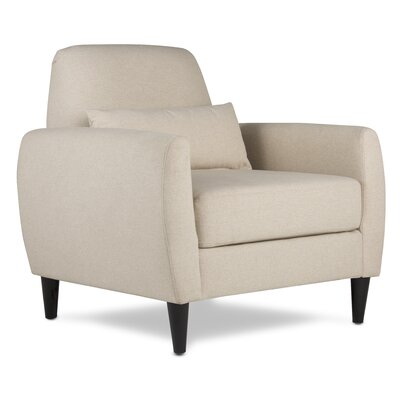 Allure Armchair Upholstery: Sand  Beige