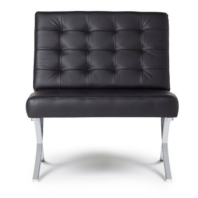 Atrium Slipper Chair Upholstery: Black