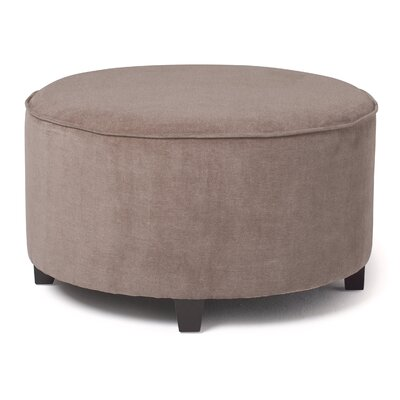 Moon Gate Cocktail Ottoman Upholstery: Warm Stone