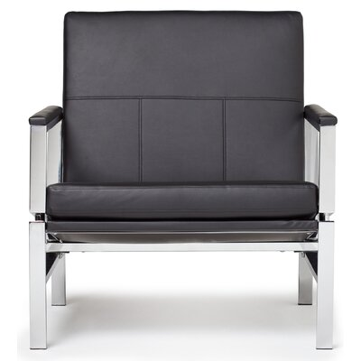 Atlas Armchair Upholstery: Black