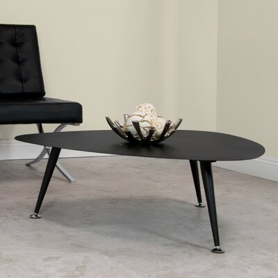 Trilateral Coffee Table Size: 16.25 H x 40 W x 40 D