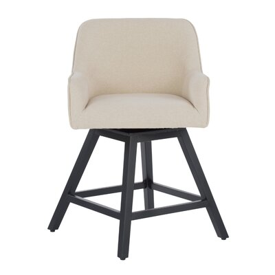 Spire Swivel Dining Chair Upholstery: Sand