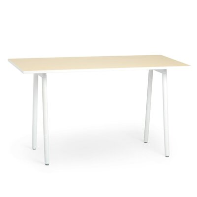 Training Table Tabletop Finish: Light Oak / White, Size: 40 H x 72 W x 36 D