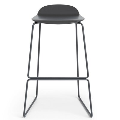 29 Bar Stool Finish: Charcoal
