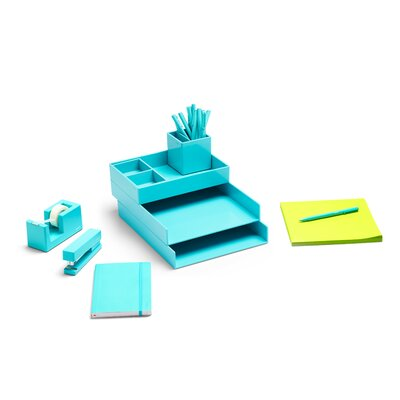 Dream Desk Set Color: Aqua 101599
