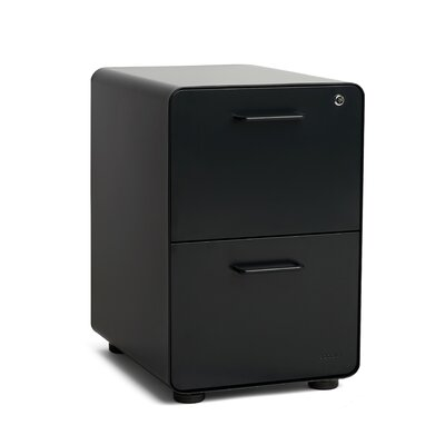 Poppin Stow 2 Drawer Vertical Filing Cabinet 101050