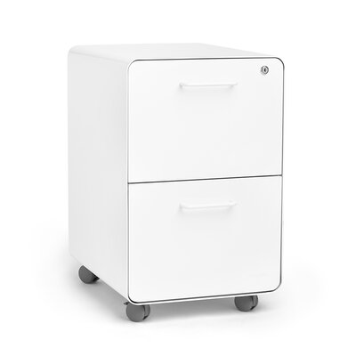 Rolling Stow Drawer Vertical File Cabinet 312 Product Photo