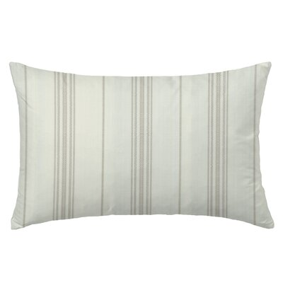 Ticking Rectangle Throw Pillow Color: Sand