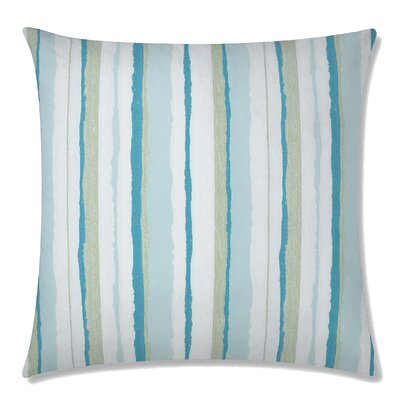 Mesa Square Throw Pillow Color: Caribben
