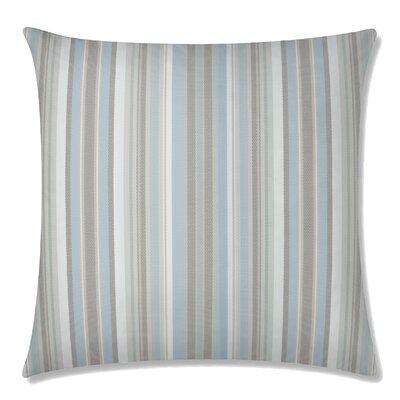 Dexter Square Throw Pillow Color: Glacier