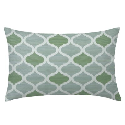 Infinity Rectangle Throw Pillow Color: Seagrove