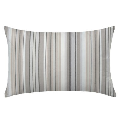 Dexter Rectangle Throw Pillow Color: Walnut
